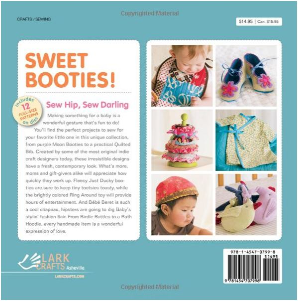Sweet Booties_Lark Craft Books_