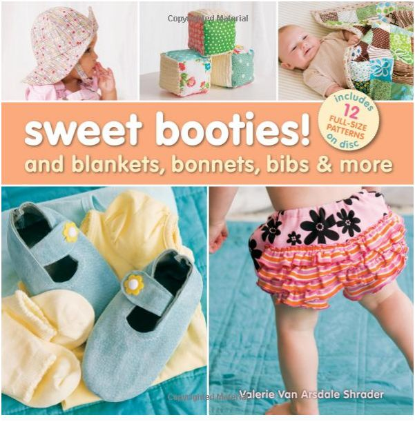 Sweet Booties_cover_ Lark Books