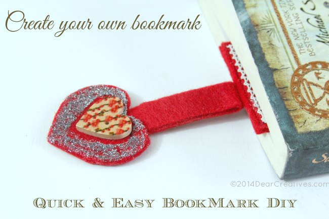 Create your own bookmark_bookmark in a book_