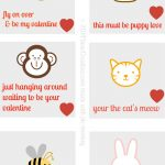 Free Printables Valentine's Day Notes