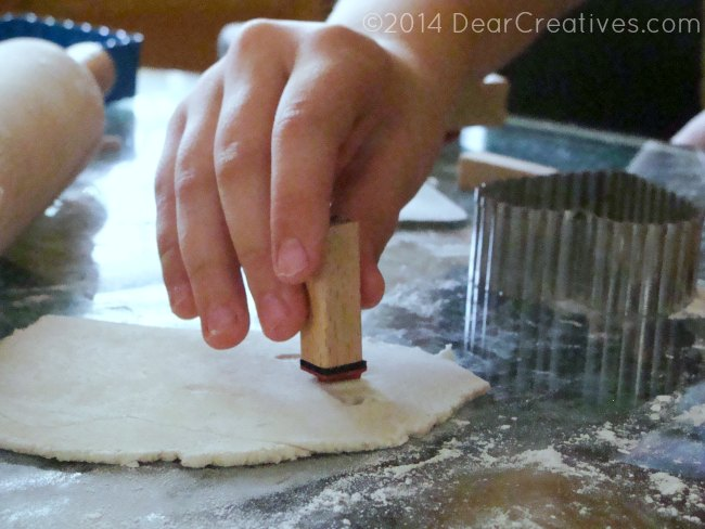 Quick and Easy Salt Dough Valentines Day #Diy