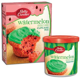 Betty Crocker Watermelon Cake Mix and Frosting