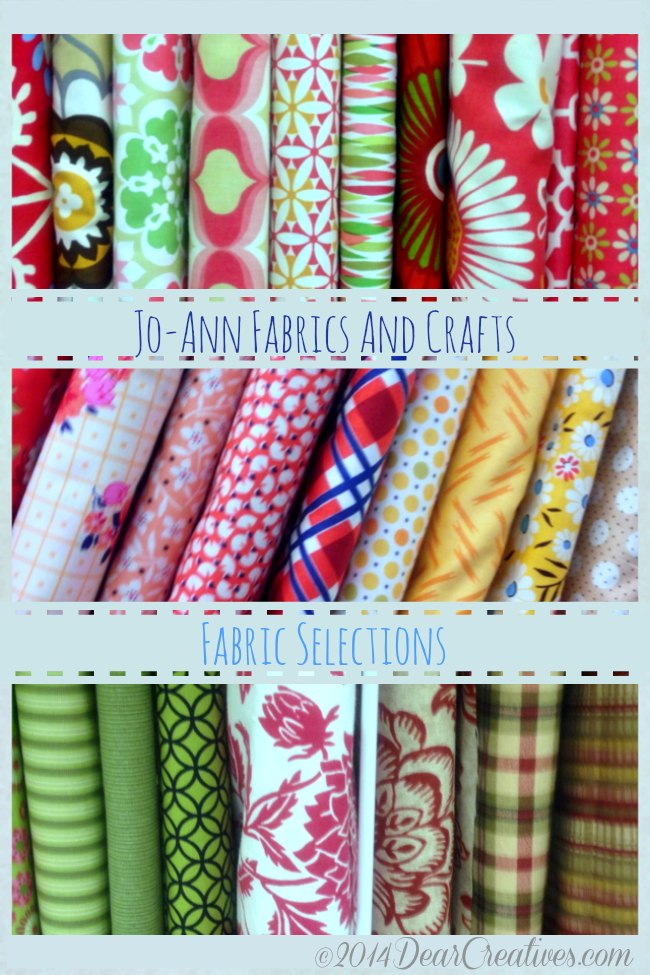 Jo-Ann Fabric Selections_