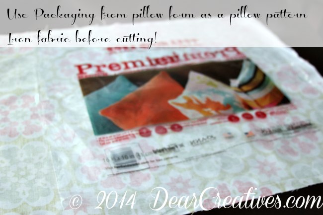 Pillow Packaging as a pattern for pillow_pattern on fabric_