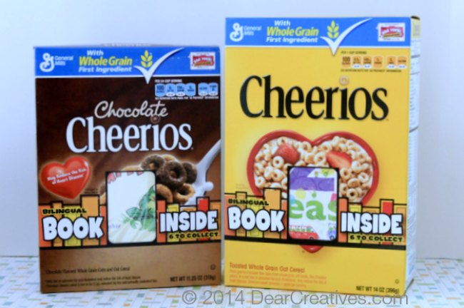 ox of Cheerios and a Box of Chocolate Cheerios