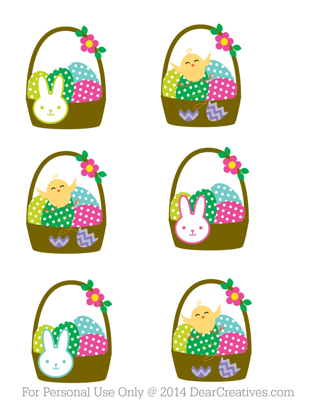 Last Minute Easter Planning Ideas & Free Cupcake Topper Printables