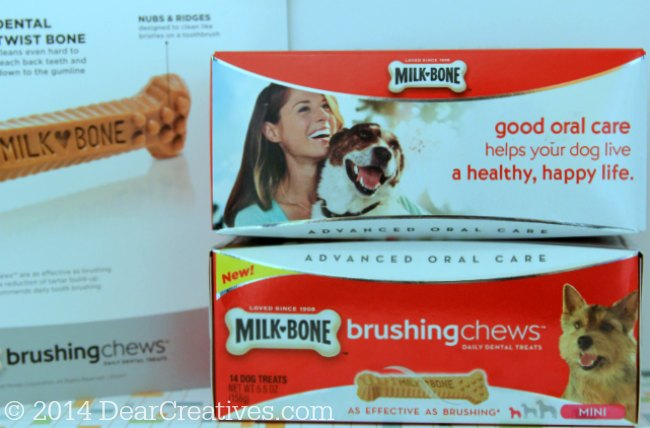 Milk-Bone Brushing Chews _ box of Milk Bone Chews_