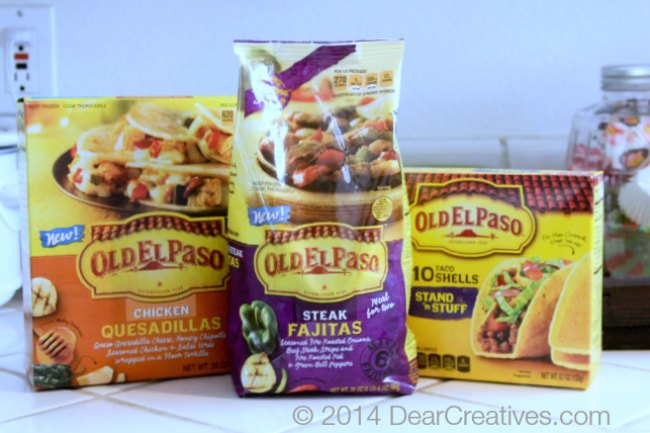 Old El Paso Products_