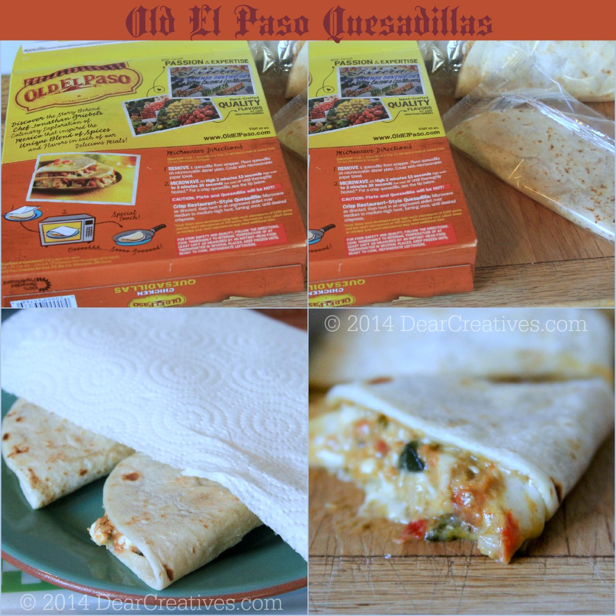 Old El Paso Quesadillas _Step by Step_