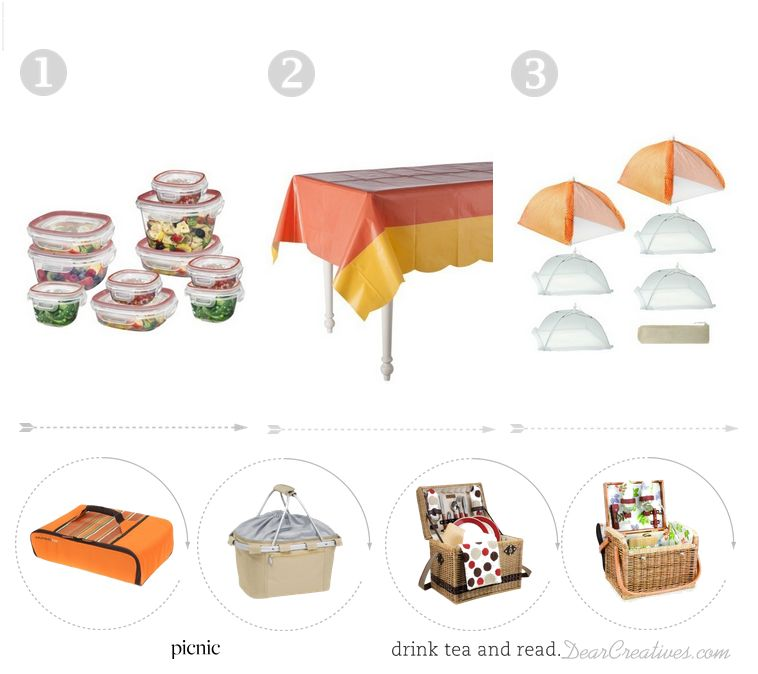 Picnic Items from Target