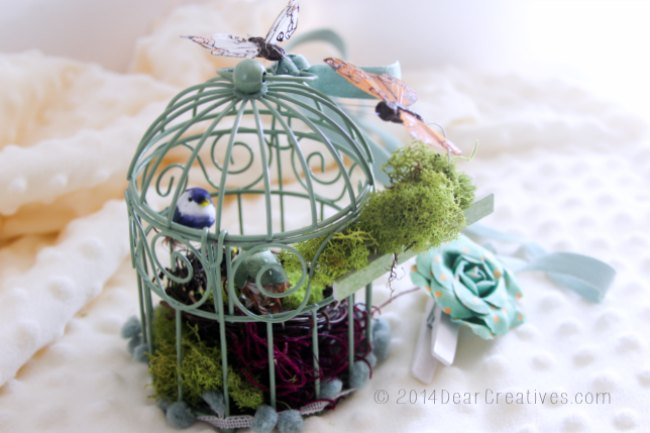 How To Decorate Mini Bird Cages For Decor Or Events