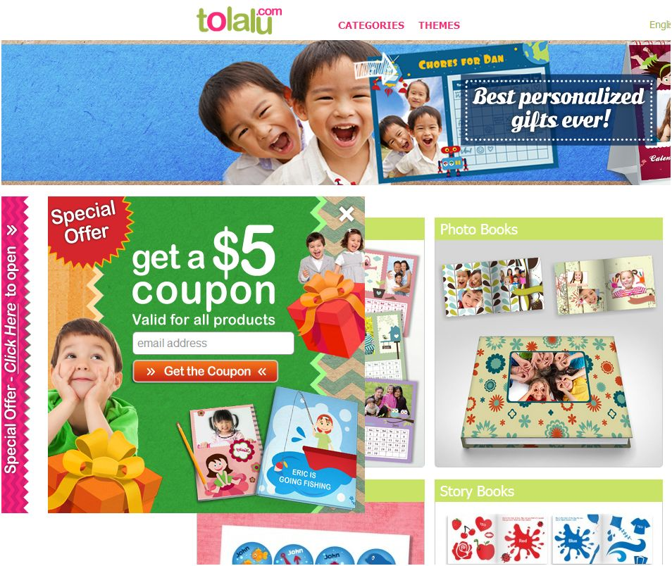 Review: Personalized Gifts for Kids & Parents at Tolalu