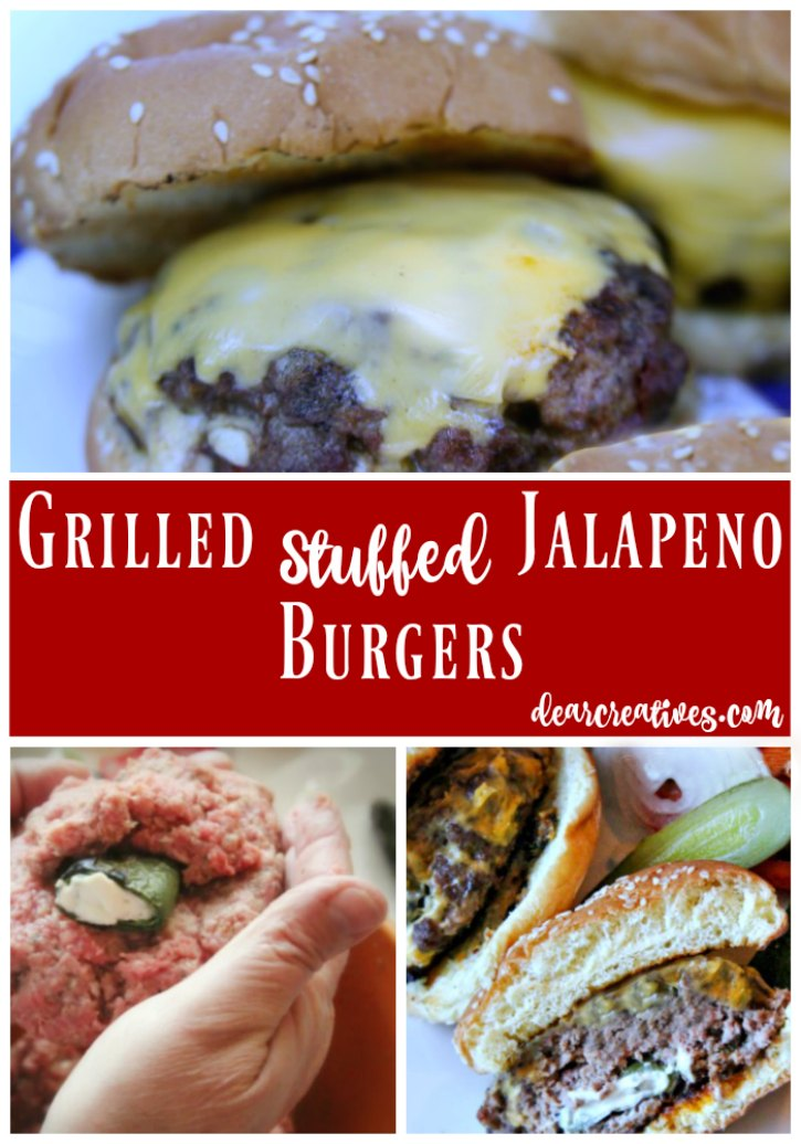Ground Beef Recipes Grilled Stuffed Jalapeno Burger This is an easy recipe that will kick your summer grilling up a k-notch!