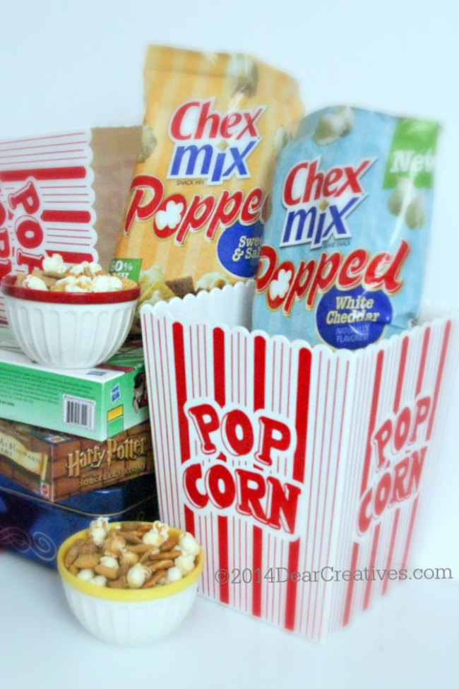 Movie Time or BacktoSchool Snacks: Two New Flavors of #ChexMixPopped for Snacktime #PlatefullCoOp #spon