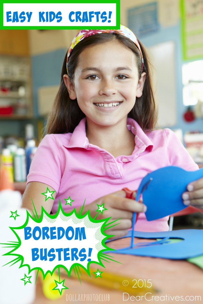 Easy Kids and Teen Crafts to Make This Summer!