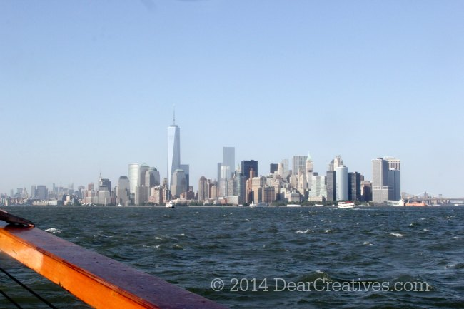 New York City Views from a Yacht_