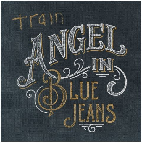 Train CD Cover Angel in Blue