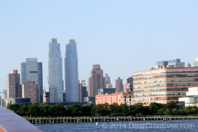 View of New York from Harbor Cruise_