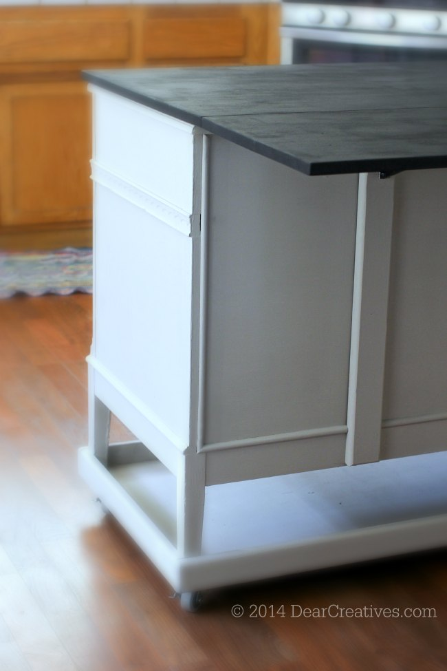 Back of Dresser to Kitchen Island Conversion_