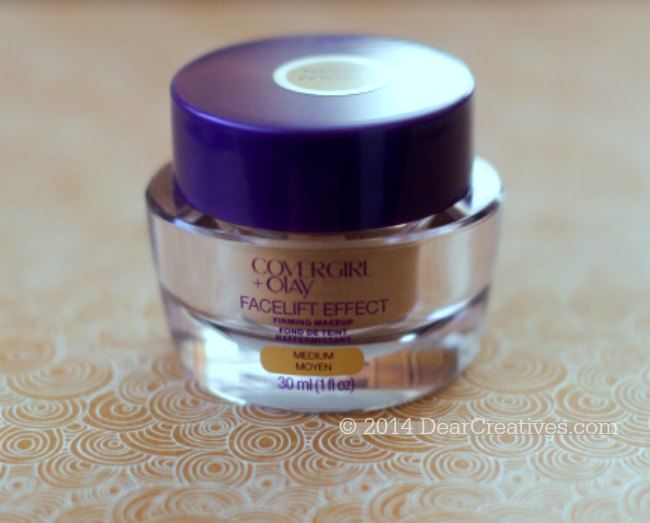 CoverGirl + Olay Facelift Effect_ Firming Makeup_