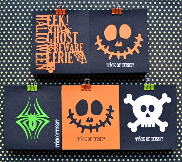 Cricut Halloween Paper Crafts