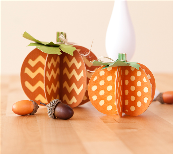Cricut Halloween Crafts  Pumpkin Craft