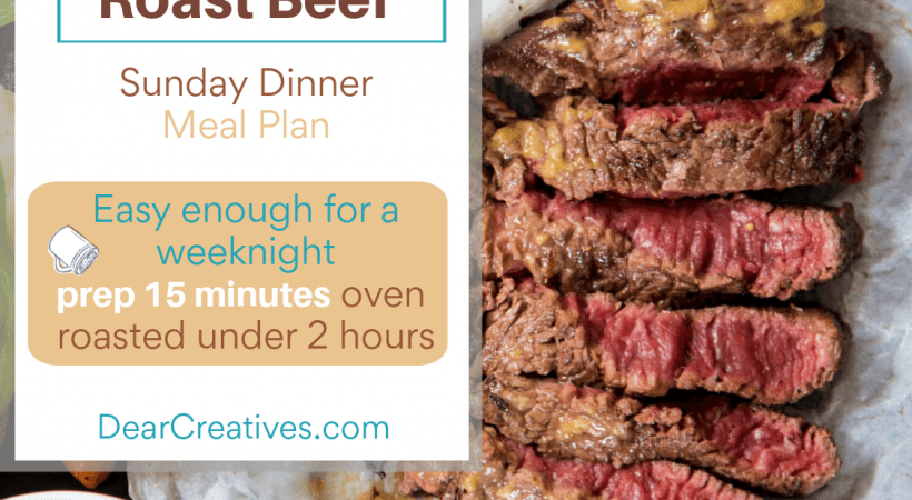 Herb Roast Beef Recipe – Easy Enough For A Weeknight!