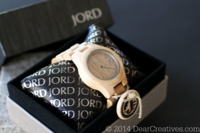 Jord Watch in the box_