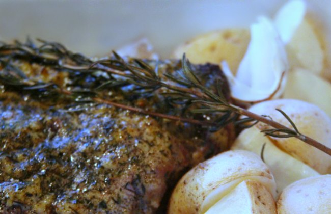 herb roasted beef