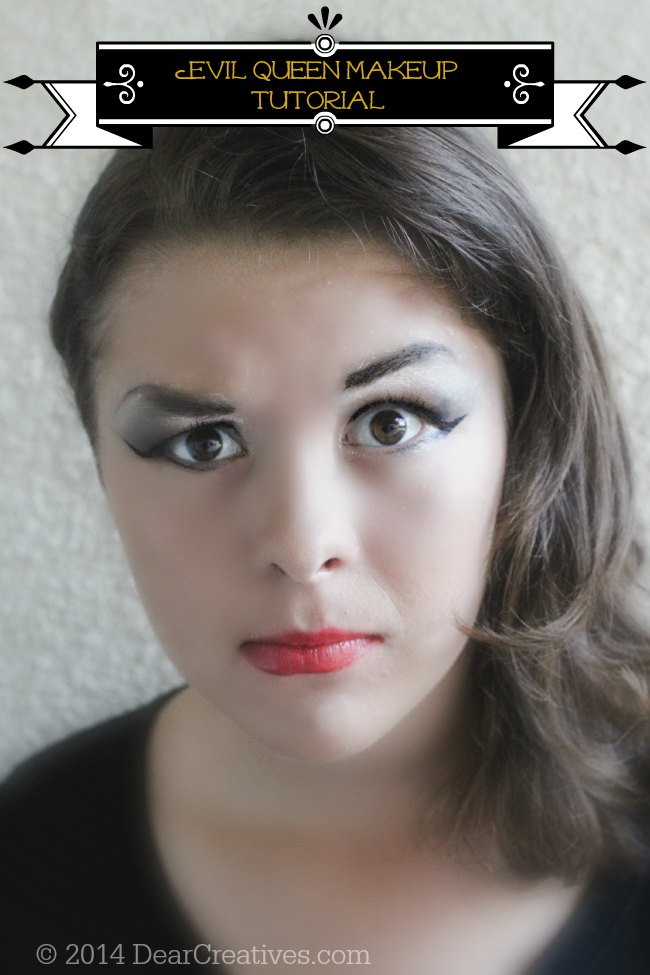 Step by Step Evil Queen Make-Up Tutorial With Makeup List  #NeutrogenaFaceOff #ad