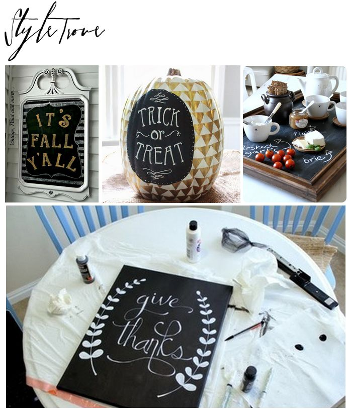 Dreamy Chalky Finish Paint Projects Round-Up #DIY s