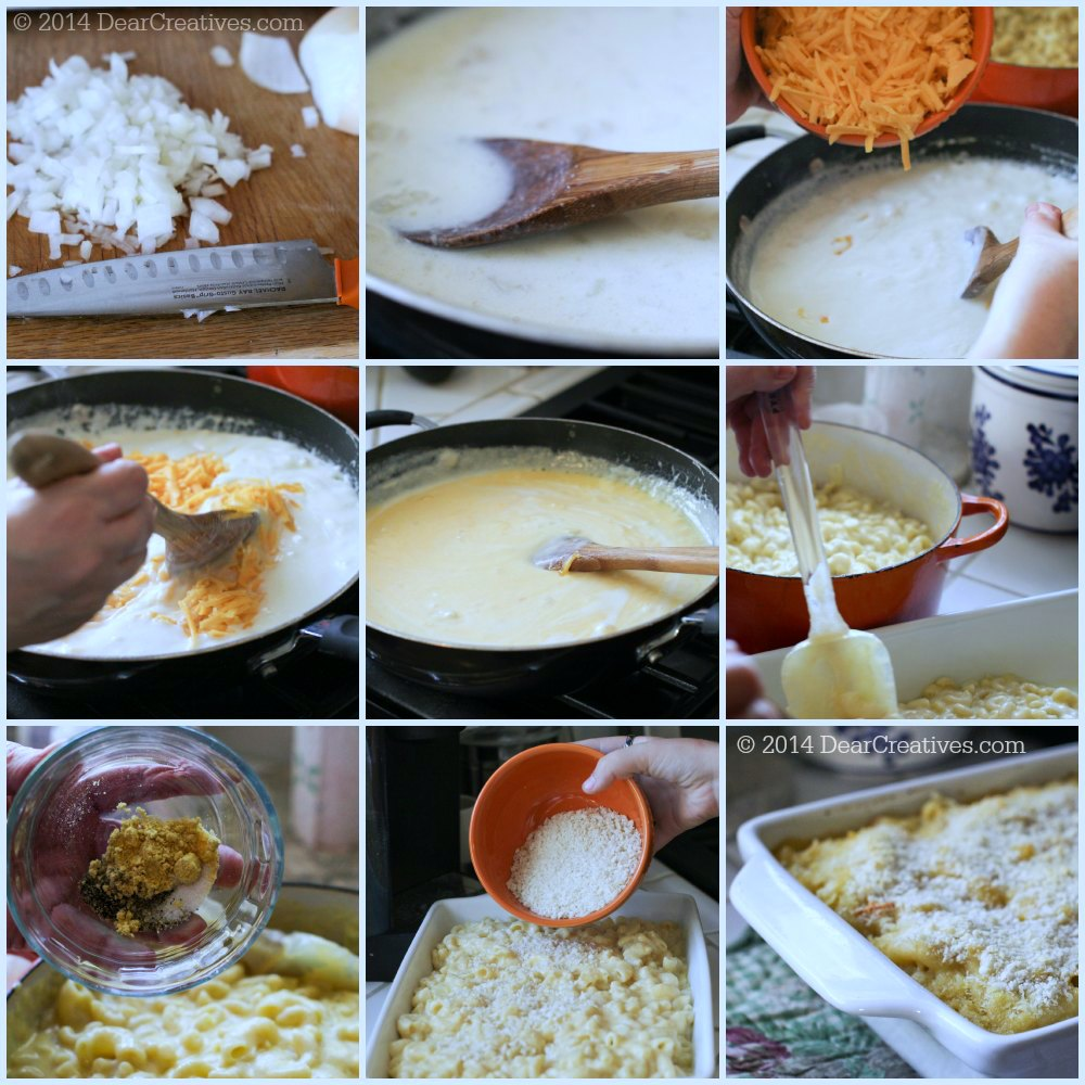 Step by Step Macaroni and Cheese_