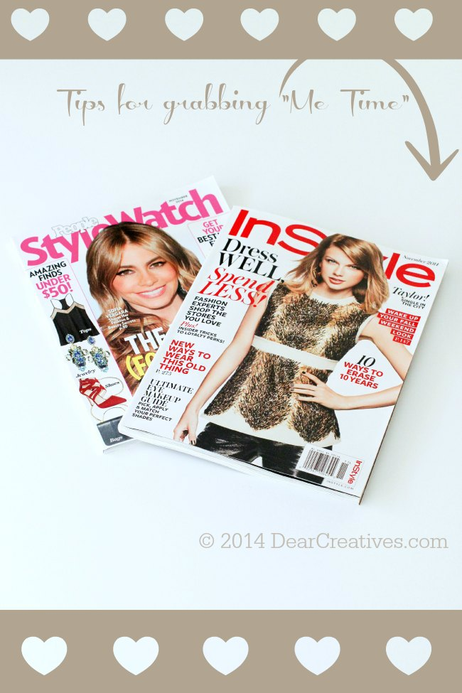 Tips for grabbing me time_InStyle Magazine and StyleWatchMagazine