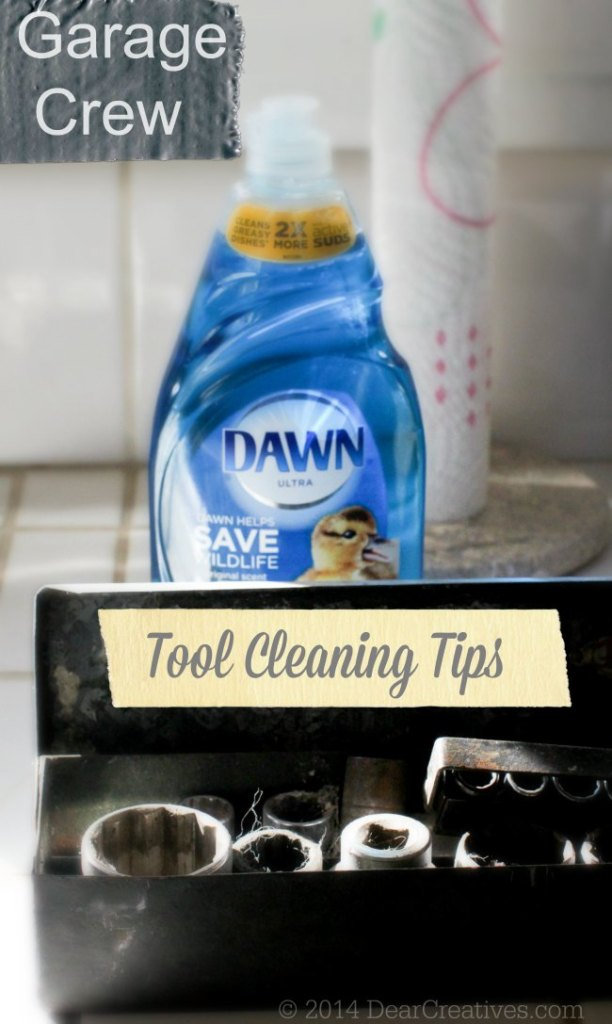 Tool Cleaning Tips - How to clean garage tools and how to clean car tires and wheels, how to clean bike tires and wheels.