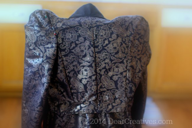 Evil Queen Costume Sewn With McCalls #Costume Pattern Part 2