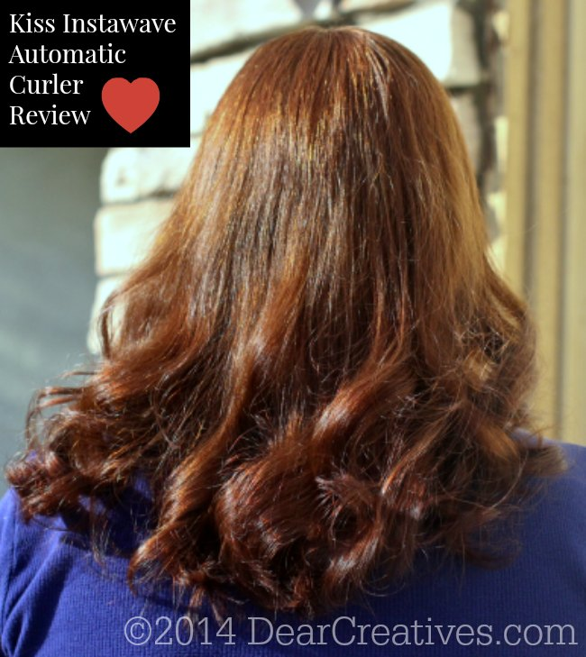 Beauty Tips| Kiss InstaWave Tangle Free Curling Rod Review
