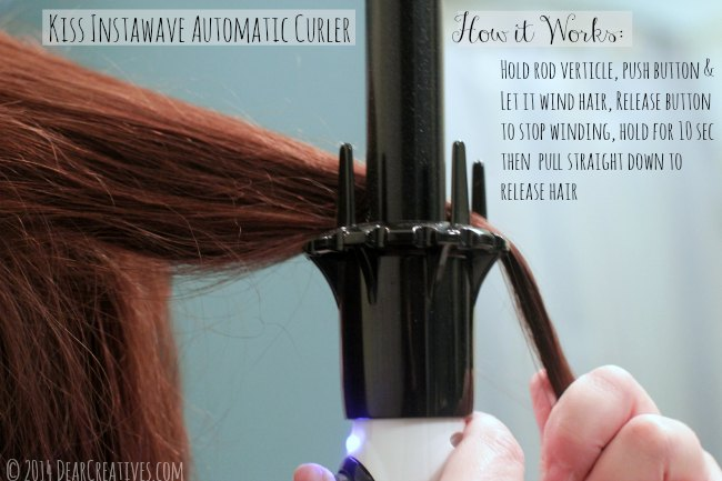 Kiss InstaWave Automatic Curler_© 2014 DearCreatives.com