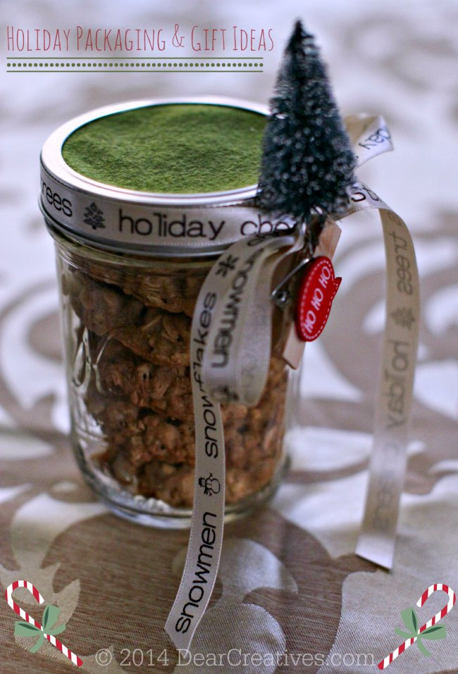 Holiday Packaging and gift ideas_ decorated mason Jar with cookies_0169 20144 DearCreatives.com
