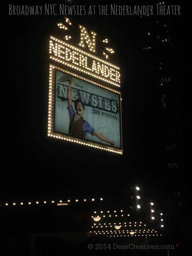 Newsies at the Nederlander NYC Times Square New York_© 2014  DearCreatives.com