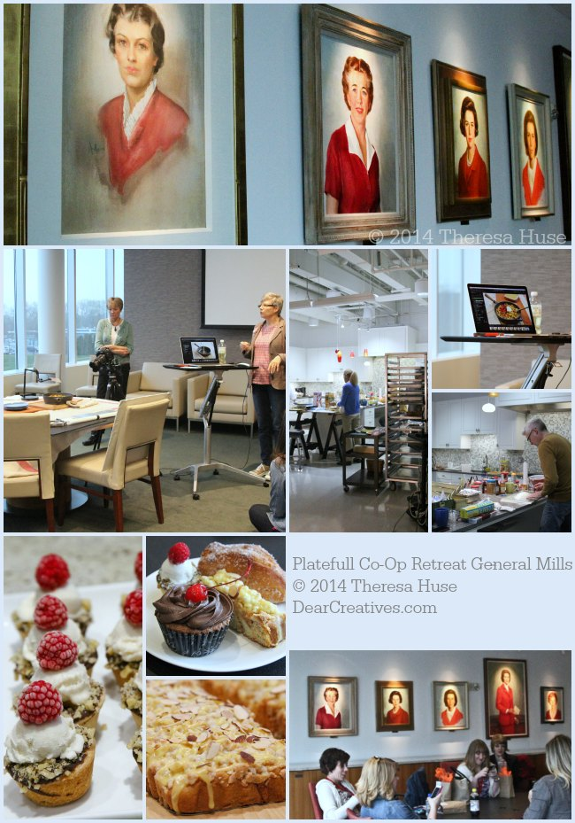 Photo collage  from Platefull Co-Op Retreat General Mills_© 2014 Theresa Huse _DearCreatives.com