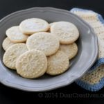 Sugared Shortbread Cookies - This Shortbread Cookie Recipe this is an easy and a family favorite we make every year during Christmas season, winter and anytime we are craving this shortbread cookie! Grab the recipe at DearCreatives.com