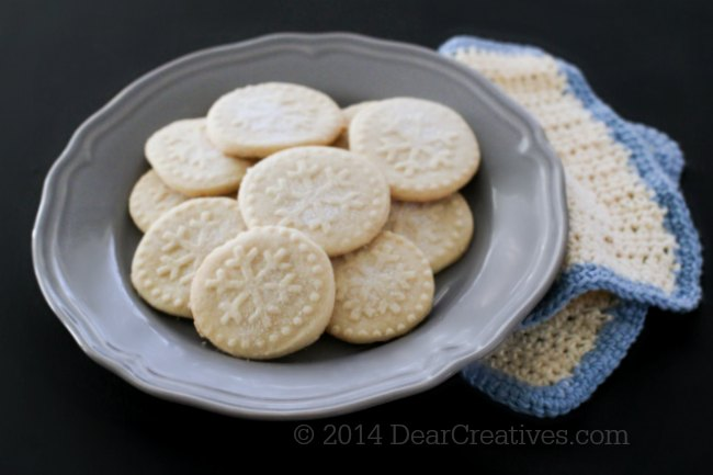 Sugared Shortbread Cookies Recipe – Family Favorite!