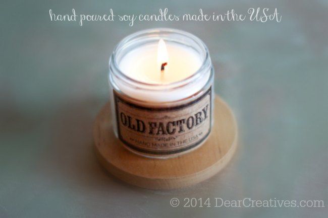 Soy candle_ Old Factory_ candle_© 2014 DearCreatives.com