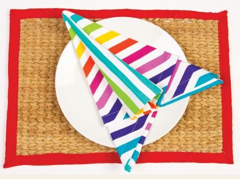 Easy DIY Projects: Airplane Napkin Folding Tutorial