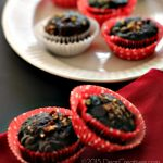 Chocolate Banana Cupcakes - this is an easy baking recipe to make. Use cocoa powder,dark chocolate chips and chopped pecans.
