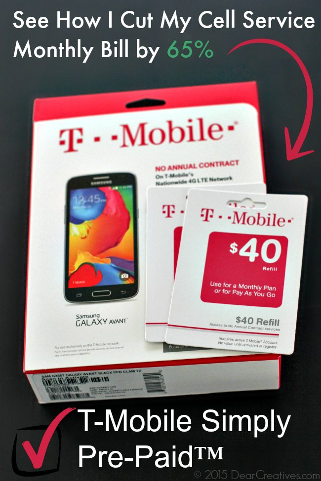 T-Mobile Simply Pre-Paid™ How I Saved Over 50%! See How You Can Too!
