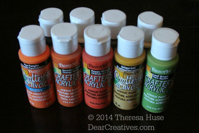 Crafting Craft Paint Colors| Acrylic paint| crafters acrylic gloss