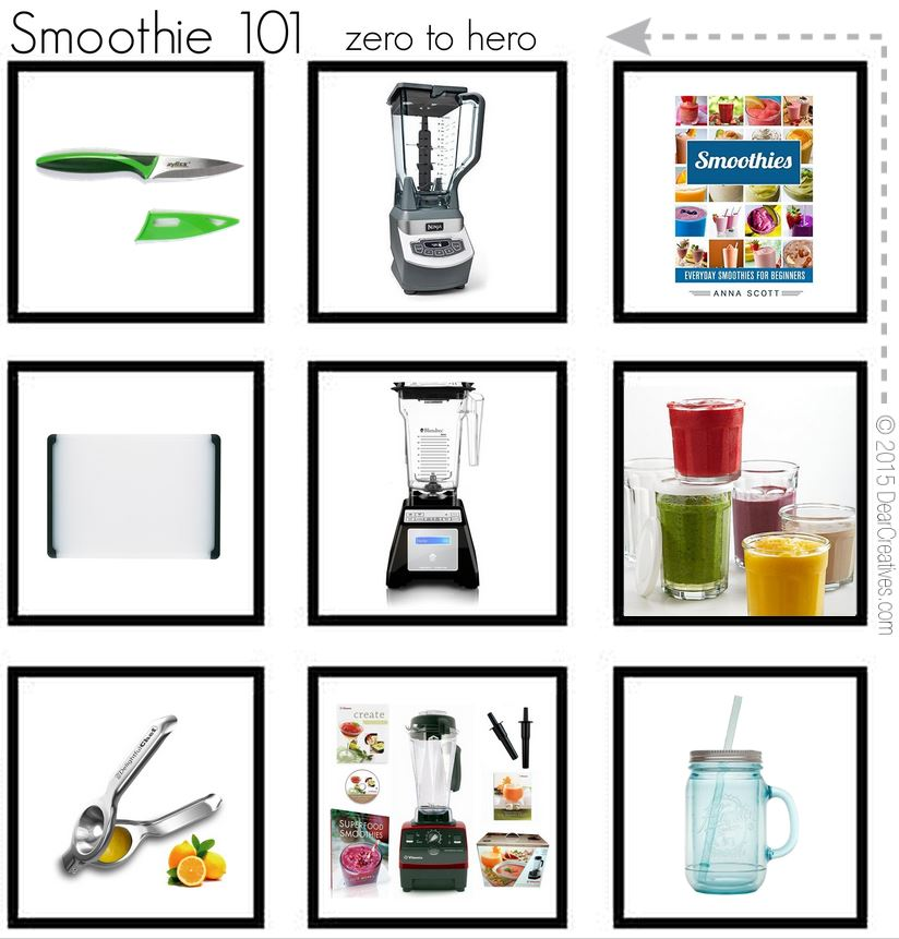 Kitchen Tools and small kitchen appliances | Smoothie 101 Kitchen must haves for making smoothies at home.