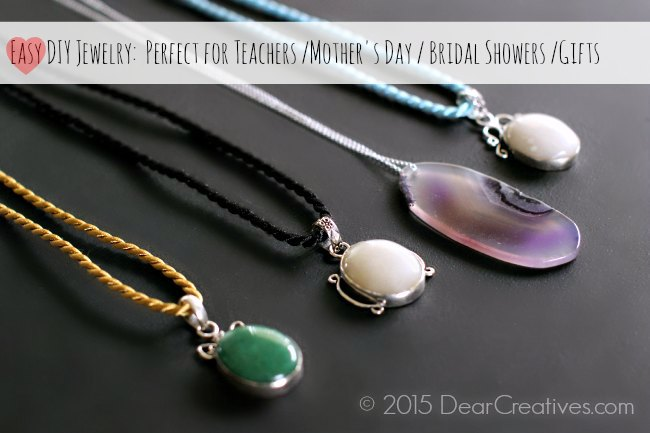 Easy DIY Projects Jewelry Necklaces