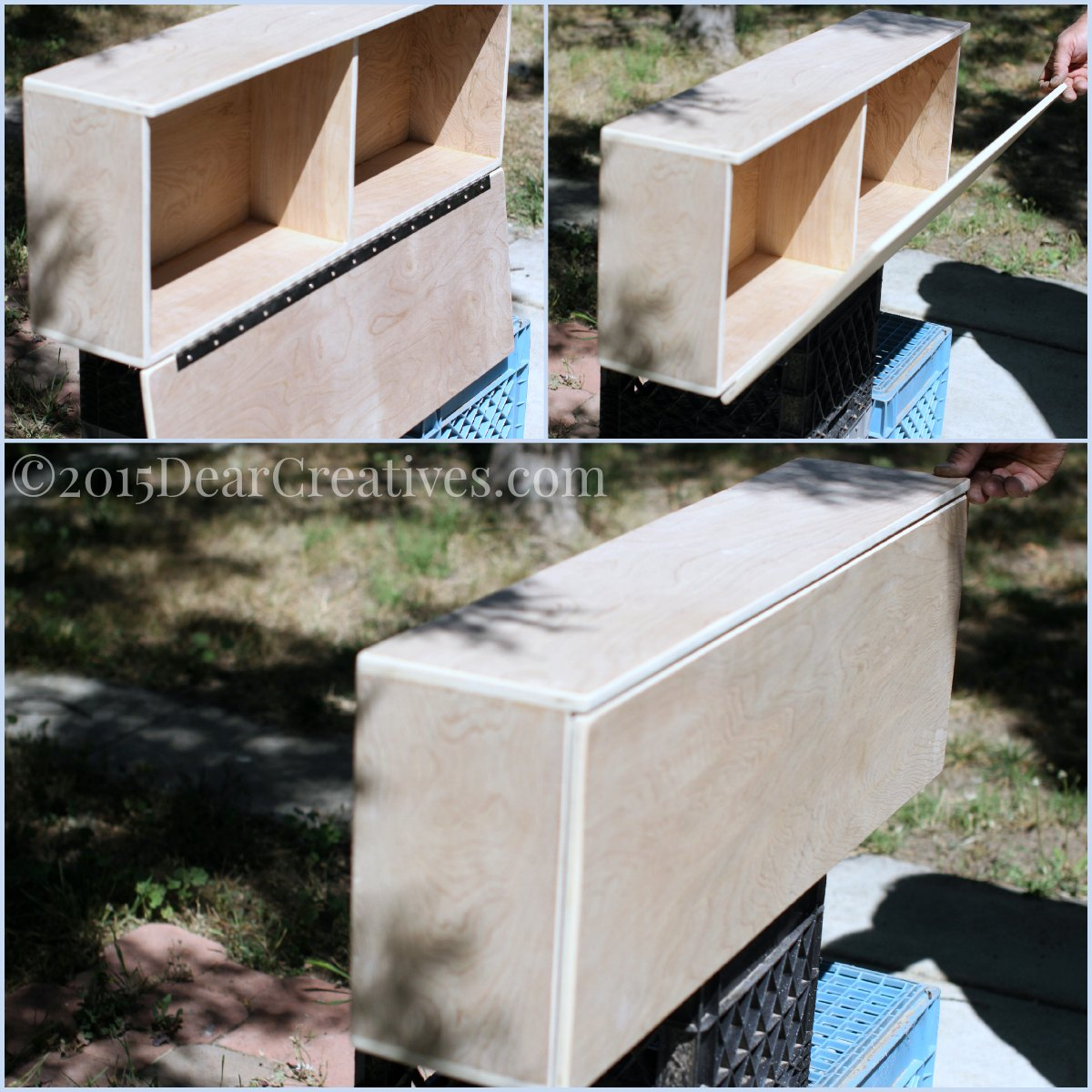 Easy Diy Project Wall Cabinet Coffee Tea Cupboard